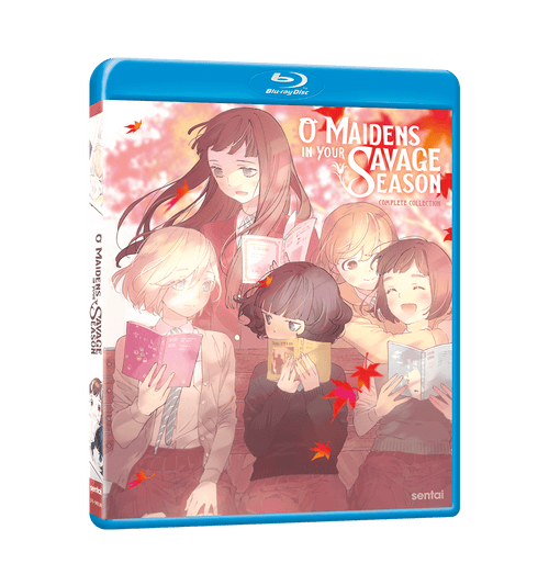O Maidens in Your Savage Season Complete Collection Blu-ray Front Cover