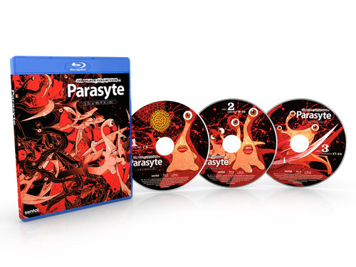 Parasyte -the maxim- Complete Collection Blu-ray Disc Spread