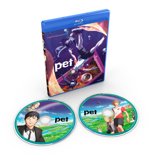 PET Complete Collection Blu-ray Disc Spread