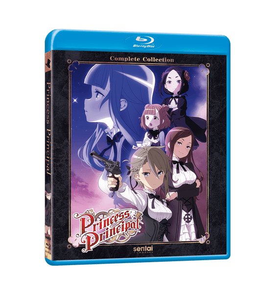 Princess Principal Complete Collection Blu-ray Front Cover