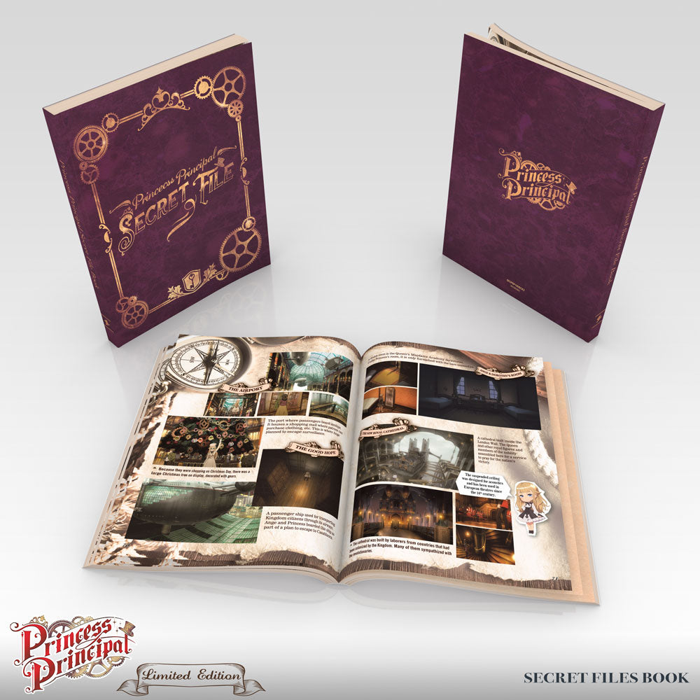 Princess Principal Premium Box Set Booklet 2