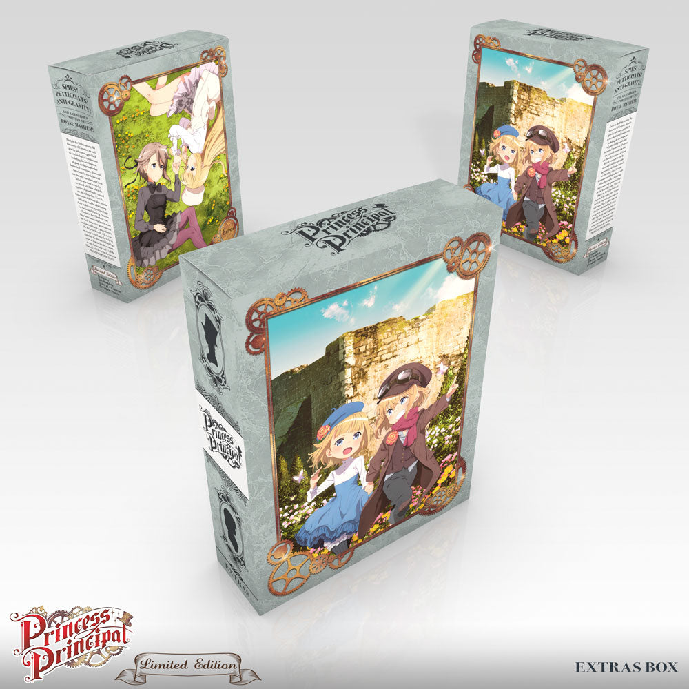Princess Principal Premium Box Set Extras Box