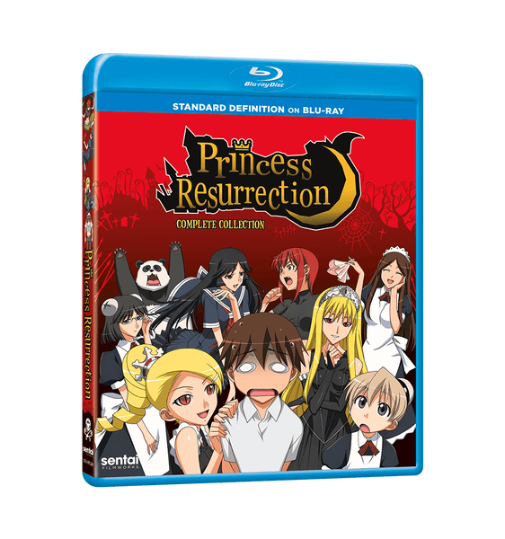 Princess Resurrection Complete Collection SD Blu-ray Front Cover