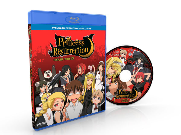 Princess Resurrection Complete Collection SD Blu-ray Disc Spread