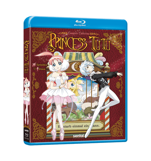 Princess Tutu Complete Collection Blu-ray Front Cover