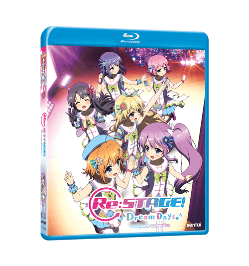 RE: STAGE! Dream Days Complete Collection Blu-ray Front Cover