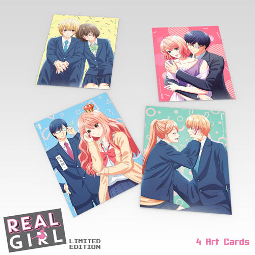 Real Girl Premium Box Set Art Cards