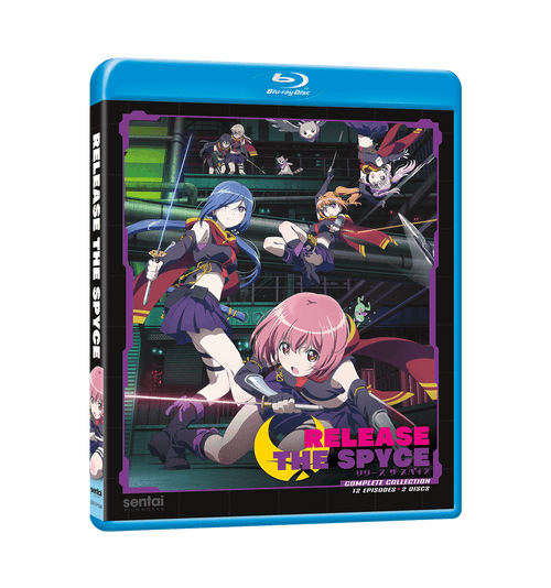 Release the Spyce Complete Collection Blu-ray Front Cover
