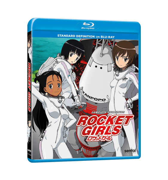 Rocket Girls Complete Collection Blu-ray Front Cover