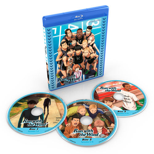Run with the Wind Complete Collection Blu-ray Disc Spread