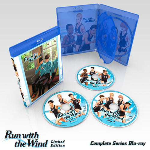 Run with the Wind Premium Box Set Blu-ray Disc Spread