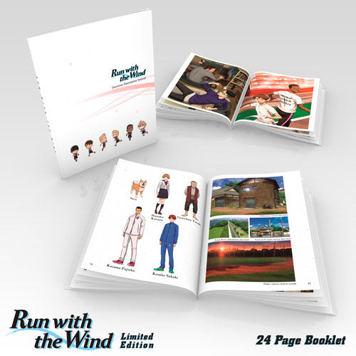 Run with the Wind Premium Box Set Art Booklet