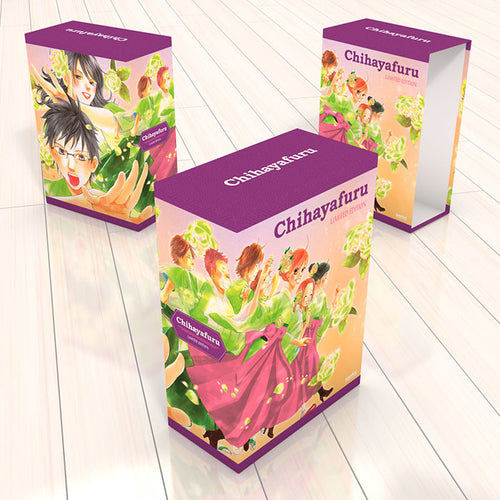 Chihayafuru Premium Box Set Box Design