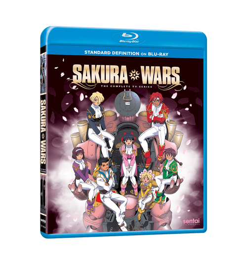 Sakura Wars TV Complete Collection SD Blu-ray Front Cover