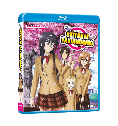 Seitokai Yakuindomo Complete Collection Blu-ray Front Cover