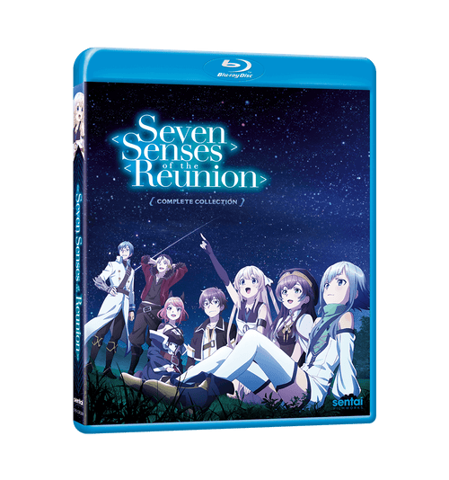 Seven Senses of the Reunion Complete Collection Blu-ray Front Cover