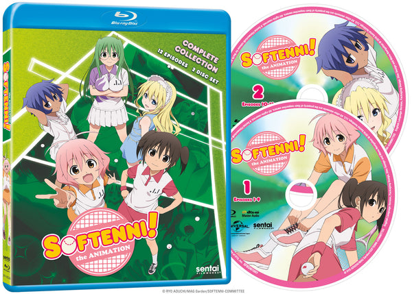 Softenni! Complete Collection - Sentai Filmworks - anime - 2