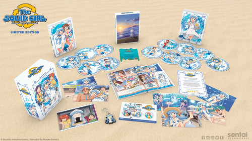Squid Girl Seasons 1 & 2 Premium Box Set Spread