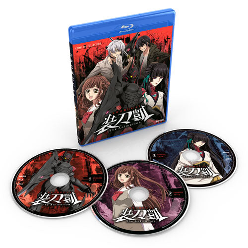 SWORDGAI Seasons 1 & 2 Complete Collection Blu-ray Disc Spread