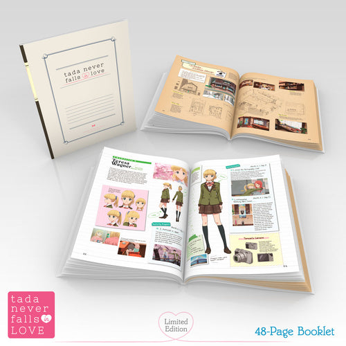 Tada Never Falls in Love Premium Box Set Booklet