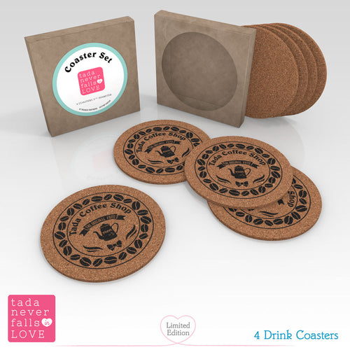 Tada Never Falls in Love Premium Box Set Coaster Set