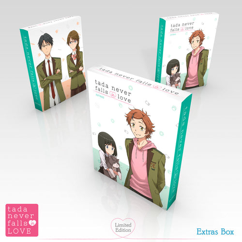 Tada Never Falls in Love Premium Box Set Extras Box