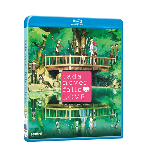 Tada Never Falls in Love Complete Collection Blu-ray Front Cover