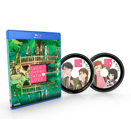 Tada Never Falls in Love Complete Collection Blu-ray Disc Spread