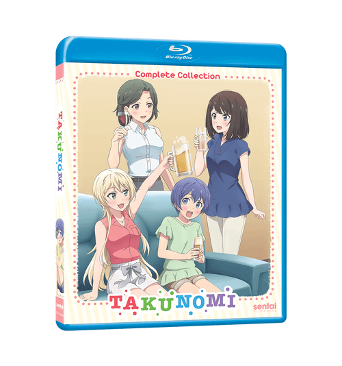 Takunomi Complete Collection Blu-ray Front Cover