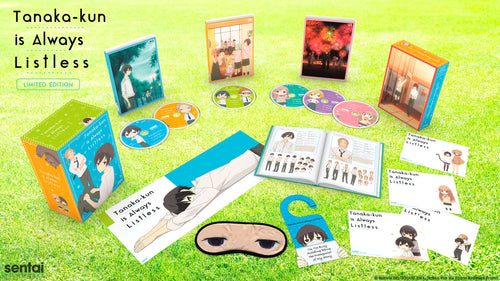 Tanaka-kun is Always Listless Premium Box Set Spread