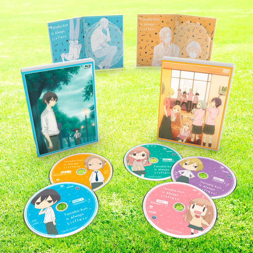Tanaka-kun is Always Listless Premium Box Set Disc Spread