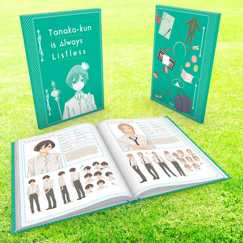 Tanaka-kun is Always Listless Premium Box Set Booklet