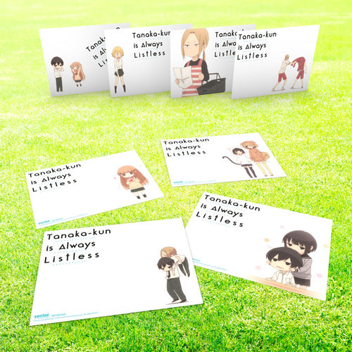Tanaka-kun is Always Listless Premium Box Set Art Cards
