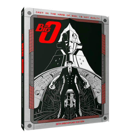 Big O, The Complete Collection [SteelBook Edition] Blu-ray Front Cover