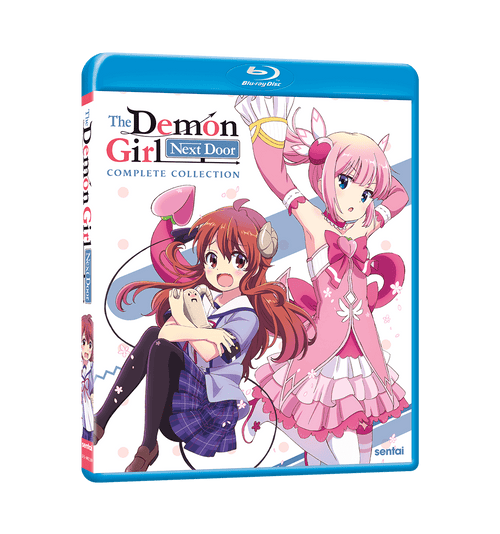 The Demon Girl Next Door Complete Collection Blu-ray Front Cover