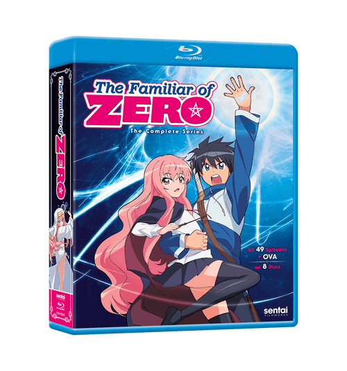 The Familiar of Zero Complete Series Blu-ray Front Cover