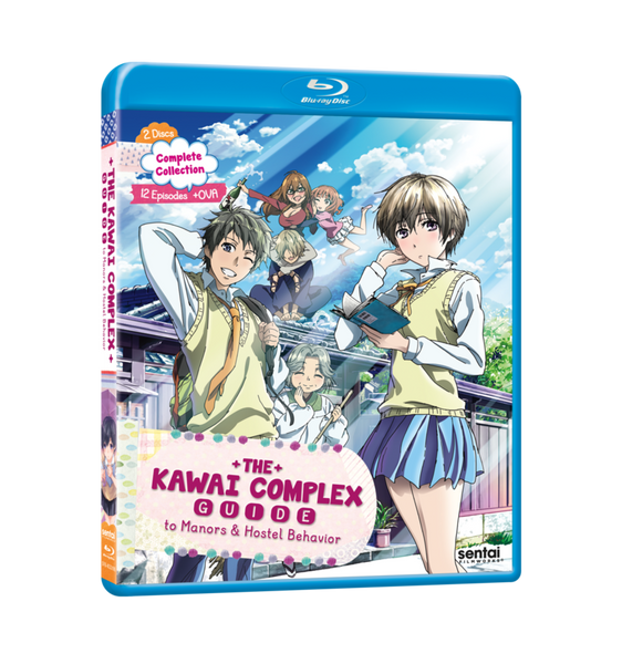 The Kawai Complex Guide to Manors & Hostel Behavior Complete Collection Blu-ray Front Cover