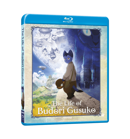 The Life of Budori Gusuko Blu-ray Front Cover
