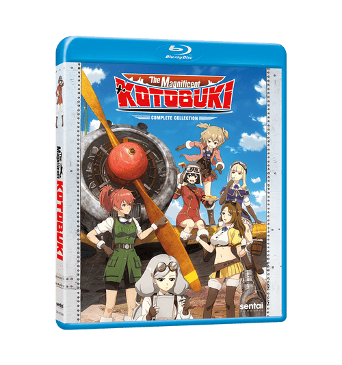 The Magnificent KOTOBUKI Complete Collection Blu-ray Front Cover