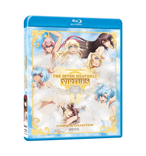 The Seven Heavenly Virtues Complete Collection Blu-ray Front Cover