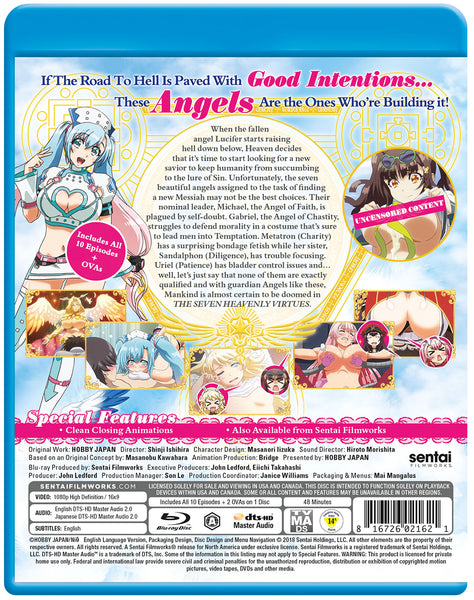 The Seven Heavenly Virtues Complete Collection Blu-ray Back Cover