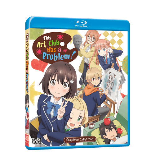 This Art Club Has a Problem! Complete Collection Blu-ray Front Cover