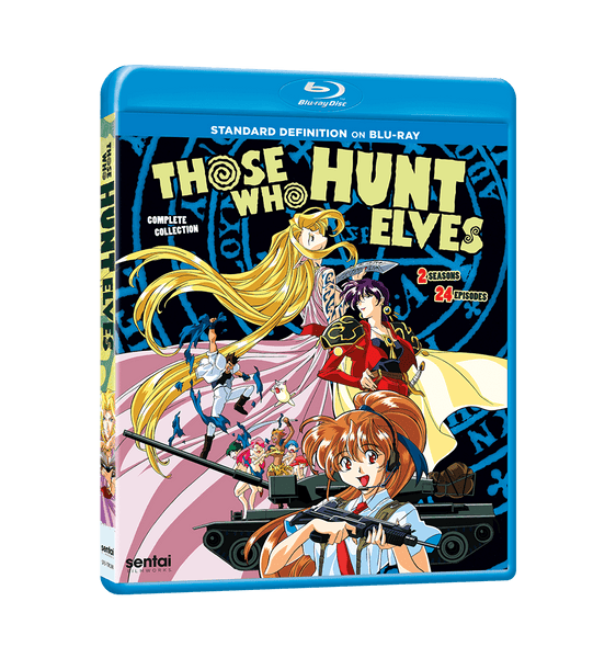 Those Who Hunt Elves Complete Collection SD Blu-ray Front Cover