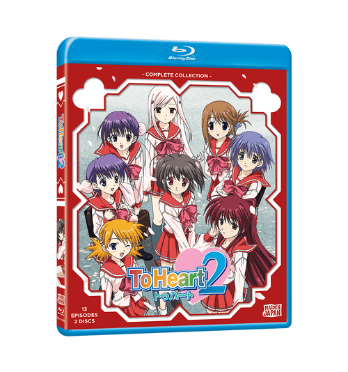 To Heart 2 Complete Collection Blu-ray Front Cover