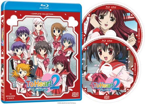 To Heart 2 Complete Collection Blu-ray Disc Spread