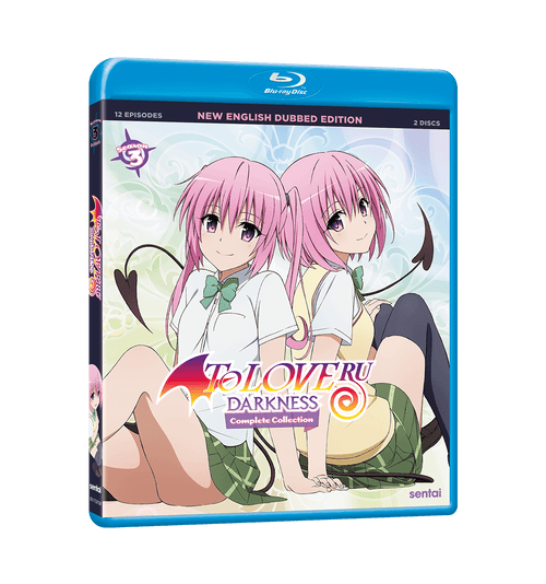 To Love Ru Darkness Season 3 Complete Collection Blu-ray Front Cover