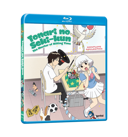 Tonari no Seki-kun: The Master of Killing Time Complete Collection Blu-ray Front Cover