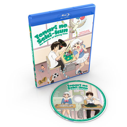 Tonari no Seki-kun: The Master of Killing Time Complete Collection Blu-ray Disc Spread