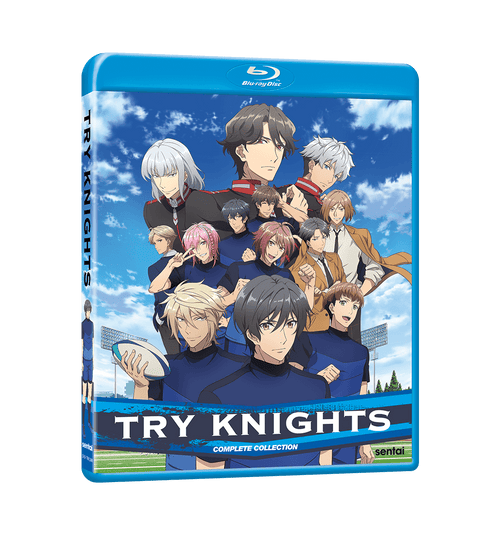 Try Knights Complete Collection Blu-ray Front Cover