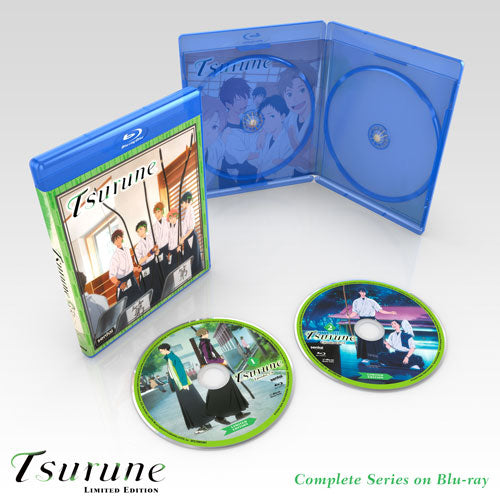 Tsurune Premium Box Set Blu-ray Disc Spread